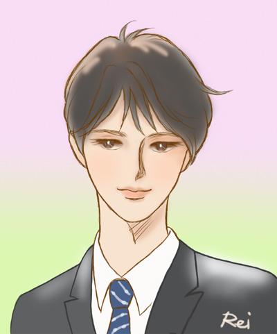 羽生くんイラスト~園遊会羽生結弦