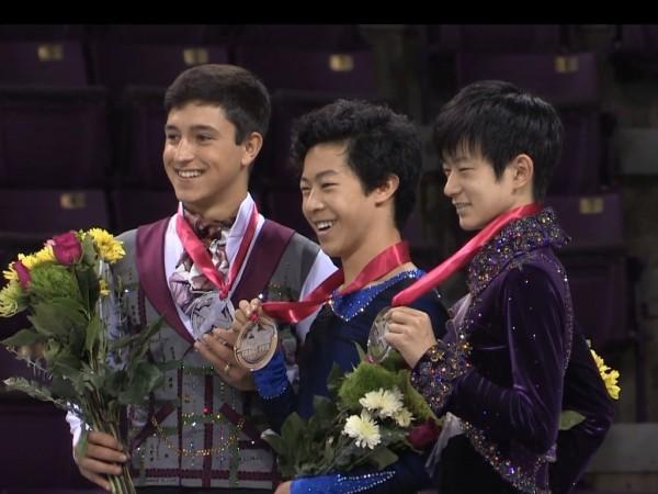 JGPアメリカ大会2015表彰式