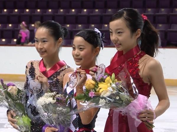 JGPアメリカ大会女子表彰式