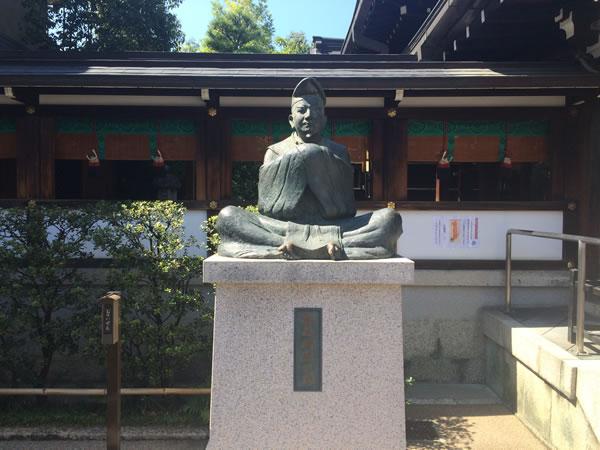 安倍晴明公像-晴明神社2015.9.22