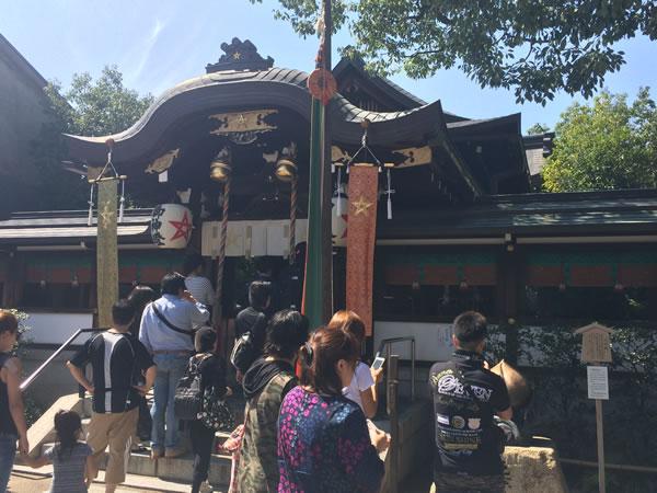 本殿-晴明神社2015.9.22