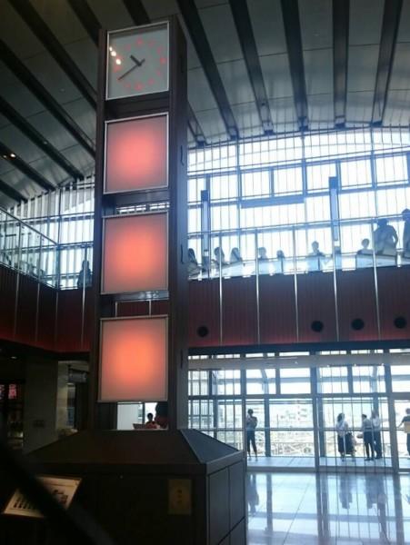 京都駅西口スバコの時計