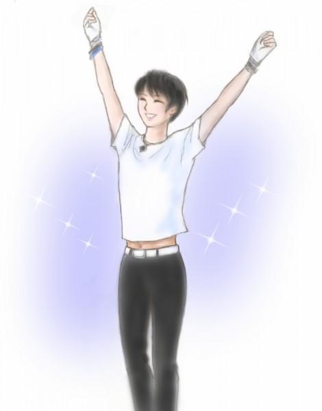 羽生結弦くんイラスト腹チラ2011coc