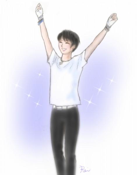 羽生結弦くんイラスト2011coc